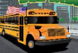 لعبة قيادة باص المدرسة