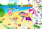 لعبة ترتيب ديكور شاطئ البحر