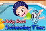 لعبة بيبي هازل في المسبح