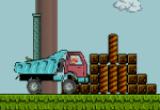 لعبة شاحنة الفطر مع ماريو