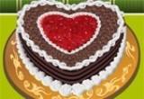 لعبة طبخ كعكة الغابة السوداء