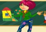 لعبة تلبيس مدرسة الرسم