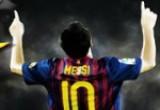 لعبة كرة القدم ليونيل ميسى