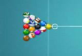 لعبة البلياردو لاعب واحد