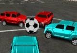لعبة كرة قدم السيارات 4x4
