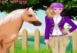 العاب تلبيس باربي والحصان السحري