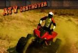 لعبة الدباب المدمر ATV