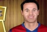 لعبة تلبيس لاعبين برشلونة