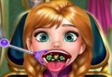 لعبة تنظيف اسنان انا