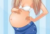 لعبة اختيار ملابس باربي الحامل