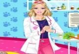 لعبة تلبيس الممرضة باربي