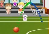 لعبة كرة السلة للاطفال
