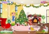تنظيف بيت بابا نويل
