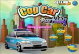 لعبة موقف سيارات الشرطة
