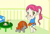 لعبة تلوين بنات صغار