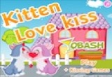 kitten love kiss game