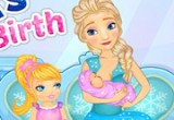 elsa's baby birthday games