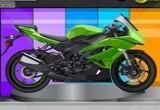 لعبة تزيين الدراجات