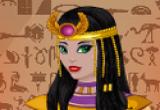 لعبة تلبيس الملكة الفرعونية