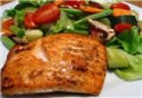 لعبة طبخ سمك السلمون
