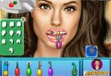 لعبة تنظيف اسنان انجلينا جولي