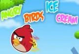 لعبة الطيور الغاضبة والمثلجات
