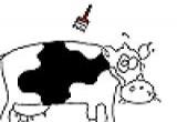 لعبة تلوين البقرة