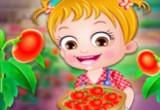 لعبة مزرعة الطماطم بيبى هازل