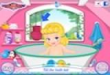 لعبة استحمام سندريلا