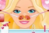 لعبة علاج أنف باربي