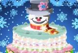لعبة طبخ كيكة رجل الثلج