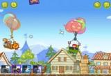 لعبة حرب البالونات