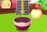 لعبة تحضير كعكة التفاح