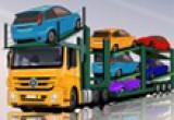لعبة شاحنة نقل السيارات