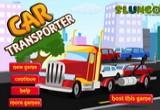 لعبة شاحنات نقل السيارات