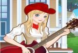 العاب تلبيس عازفة الجيتار