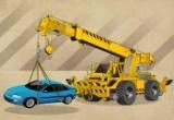 لعبة رافعة وقوف السيارات
