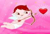 لعبة سهام كيوبيد الحب