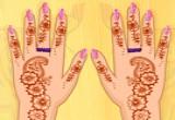 العاب نقش الحنة على اليدين
