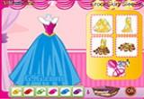 لعبة تصميم فستان باربي