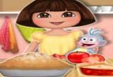 لعبة دورا فطائر الطماطم