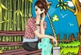 لعبة تلبيس فتاة الاحلام
