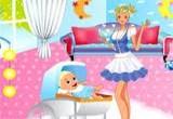 تلبيس مربية المنزل-الفتاة الجميلة