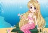لعبة تلبيس فتاة البحر