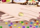 لعبة منكير الحلوى الملونة