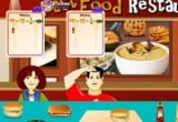 لعبة ادارة مطعم الوجبات السريعة