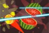 لعبة تقطيع الفواكه بالسيف