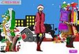 لعبة تلبيس بنات عيد الميلاد