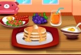 العاب تحضير الفطور للعائلة