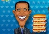 لعبة هوت دوج باراك اوباما